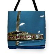 1952 Chevrolet Pickup Hood Tote Bag