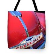 1952 Chevrolet Suburban Hood Ornament Tote Bag