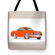 1952 Chrysler Delegance Concept Tote Bag by Jack Pumphrey