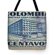 1952 Columbian Stamp Tote Bag