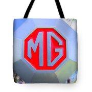 1952 Mg Roadster Emblem Tote Bag