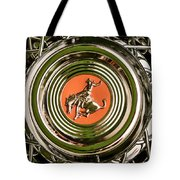 1952 Sterling Gladwin Maverick Sportster Wheel Emblem - 1720c Tote Bag
