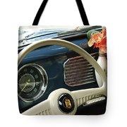 1952 Volkswagen Vw Bug Steering Wheel Tote Bag