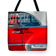 1953 Chevrolet Belair Convertible Tote Bag