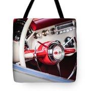 1953 Chevrolet Corvette Steering Wheel Emblem -1400c Tote Bag