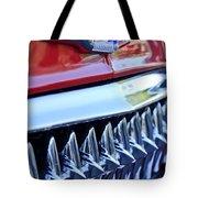 1953 Chevrolet Grille Emblem Tote Bag