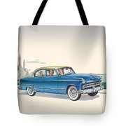 1953 Dodge Coronet - Square Format Image Tote Bag