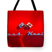 1953 Nash-healey Roadster Emblem Tote Bag