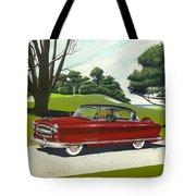 1953 Nash Rambler - Square Format Image Picture Tote Bag