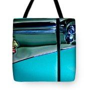 1953 Packard Caribbean Convertible Emblem 4 Tote Bag