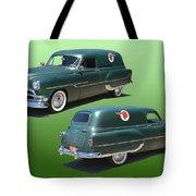 1953 Pontiac Panel Delivery Tote Bag