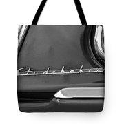 1953 Studebaker Champion Starliner Side Emblem Tote Bag