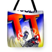 1954 - Assen Tt Motorcycle Poster - Color Tote Bag
