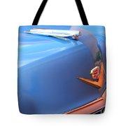 1954 Cadillac Coupe Deville Wheel Emblem - Hood Ornament Tote Bag