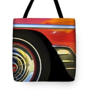 1954 Chevrolet Convertible Wheel Tote Bag