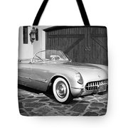 1954 Chevrolet Corvette -203bw Tote Bag