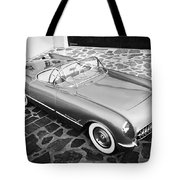 1954 Chevrolet Corvette -270bw Tote Bag