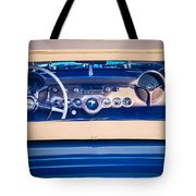 1954 Chevrolet Corvette Steering Wheel -139c Tote Bag