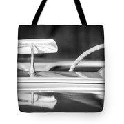 1954 Chevrolet Corvette Steering Wheel -311bw Tote Bag