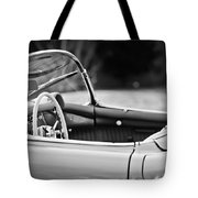 1954 Chevrolet Corvette Steering Wheel -407bw Tote Bag