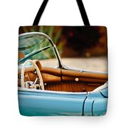 1954 Chevrolet Corvette Steering Wheel -407c Tote Bag
