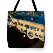 1954 Chevrolet Corvette Steering Wheel -502c Tote Bag
