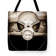 1954 Chevrolet Corvette Steering Wheel Emblem Tote Bag
