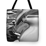 1954 Chevrolet Corvette Taillights -304bw Tote Bag