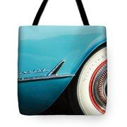 1954 Chevrolet Corvette Wheel Emblem -282c Tote Bag