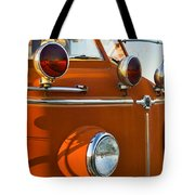 1954 Classic American Lafrance Type 700 Pumper Fire Engine Tote Bag