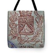 1954 El Salvador Stamp Tote Bag