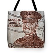 1954 General John J. Pershing Stamp Tote Bag