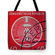 1954 German Democratic Republic Stamp - Berlin Cancelled Tote Bag