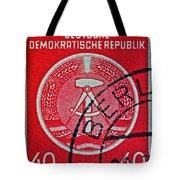 1954 German Democratic Republic Stamp - Berlin Cancelled Tote Bag