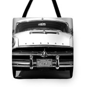 1954 Hudson Hornet In Black Tote Bag