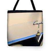 1954 Lincoln Capri Convertible Emblem 2 Tote Bag by Jill Reger