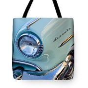 1954 Lincoln Capri Headlight Tote Bag