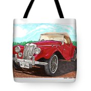 1954 M G T F  Tote Bag