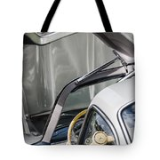 1954 Mercedes-benz 300sl Gullwing Steering Wheel -1653c Tote Bag