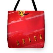 1955 Buick Roadmaster Hood Ornament - Emblem Tote Bag