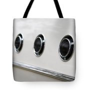 1955 Buick Special Air Vents Tote Bag