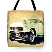 1955 Chevrolet Gasser Tote Bag