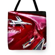 1955 Chevy Bel Air Hood Ornament Tote Bag