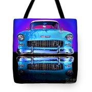 1955 Chevy Bel Air Tote Bag