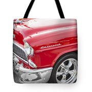 1955 Chevy Cherry Red Tote Bag