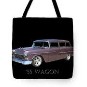 1955 Chevy Handyman Wagon Tote Bag