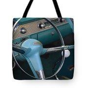 1955 Chevy Nomad Steering Wheel Tote Bag