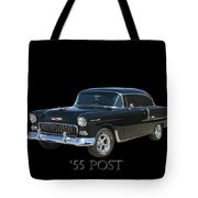 1955 Chevy Post Tote Bag