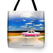 1955 Ford Crown Victoria Sweet Tote Bag