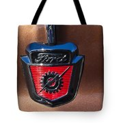 1955 Ford Emblem Tote Bag